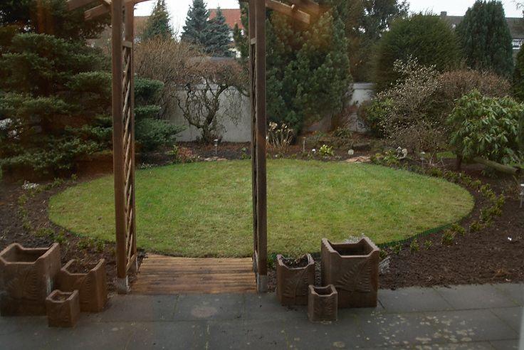 Kleiner Garten mit Sichtschutz Garden Pinterest