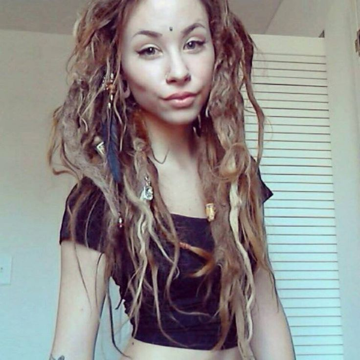 Dreads White Women With Dreads Pinterest