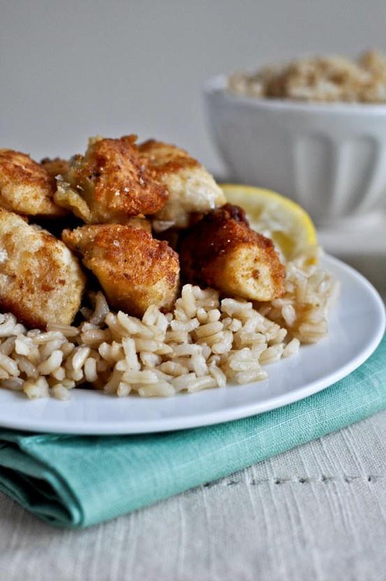 Crispy Honey Lemon Chicken | Food {yummy to our tummy} | Pinterest