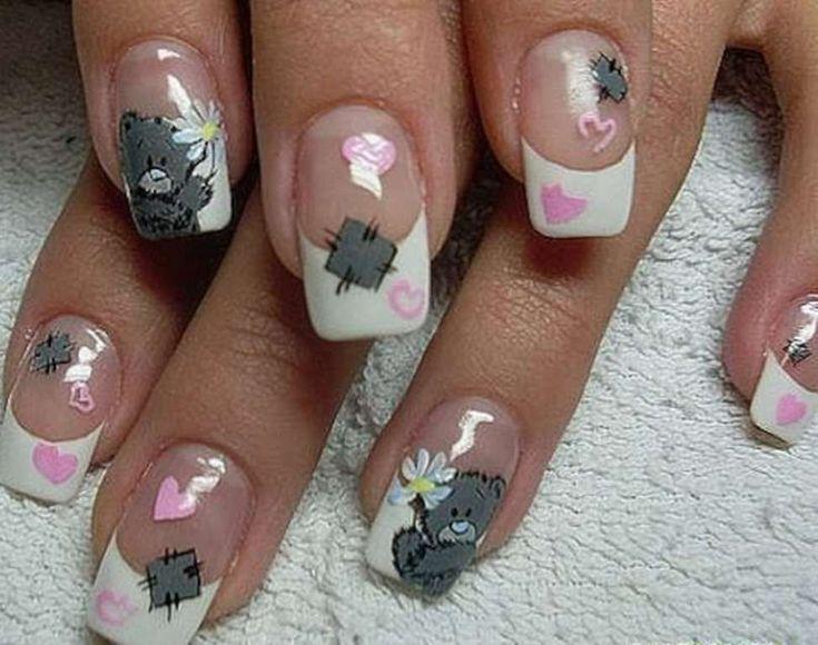 Фото мишки дизайн ногтей