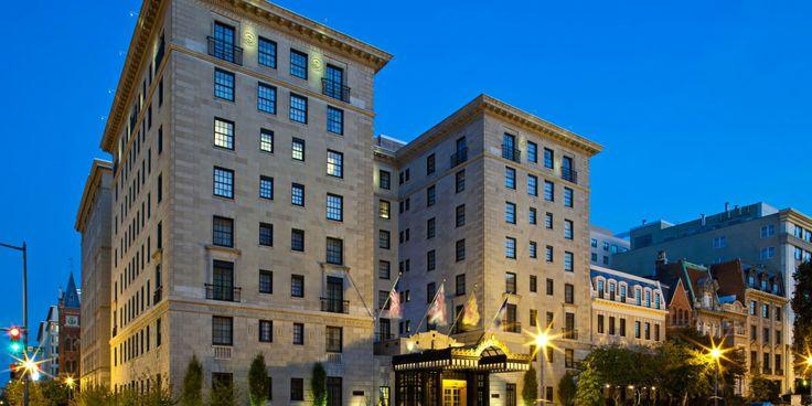 romantic hotels washington district columbia