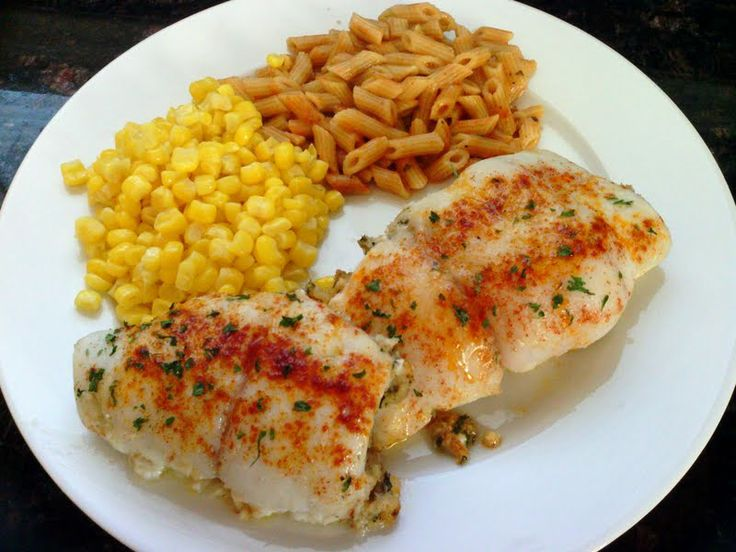 """Crab Stuffed Flounder - """"Very good and easy. Taste like from a ..."""
