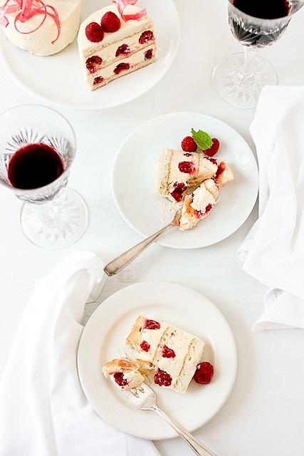 Raspberry And Vanilla Dobos Torte | Sweet Yummies | Pinterest