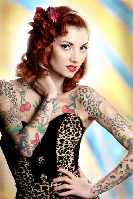Modern Pin-Up Model, Cherry Dollface | The Cherry Dollface ...