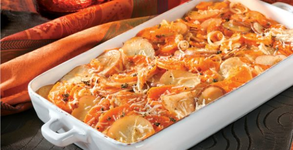 Root Vegetable Gratin - what a wo nderful seasonal dish. Chock full of ...