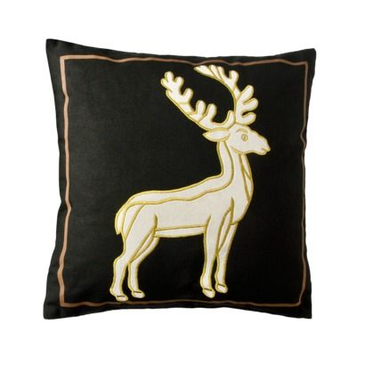 Patch Stag Pillow, Target $12