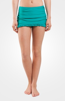 Womens swimsuit skirts womens modest swimwear lime ricki