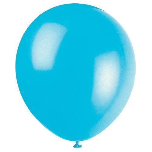Teal Latex Balloons 12