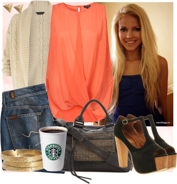 """""""Peach"""" by supergracieloo on Polyvore"""
