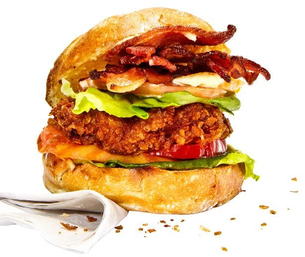 BLT Sandwich With Schnitzel - How to Build the Best Schnitzel BLT ...