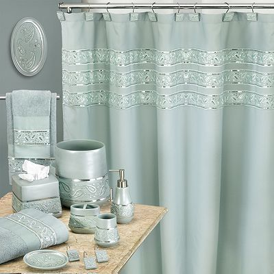 Shower curtain home decor pinterest for Bathroom ideas kohl s