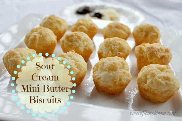 sour cream biscuits wfb | Recipes | Pinterest