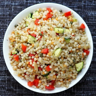 Israeli Couscous Pilaf | Around the Family Table | Pinterest