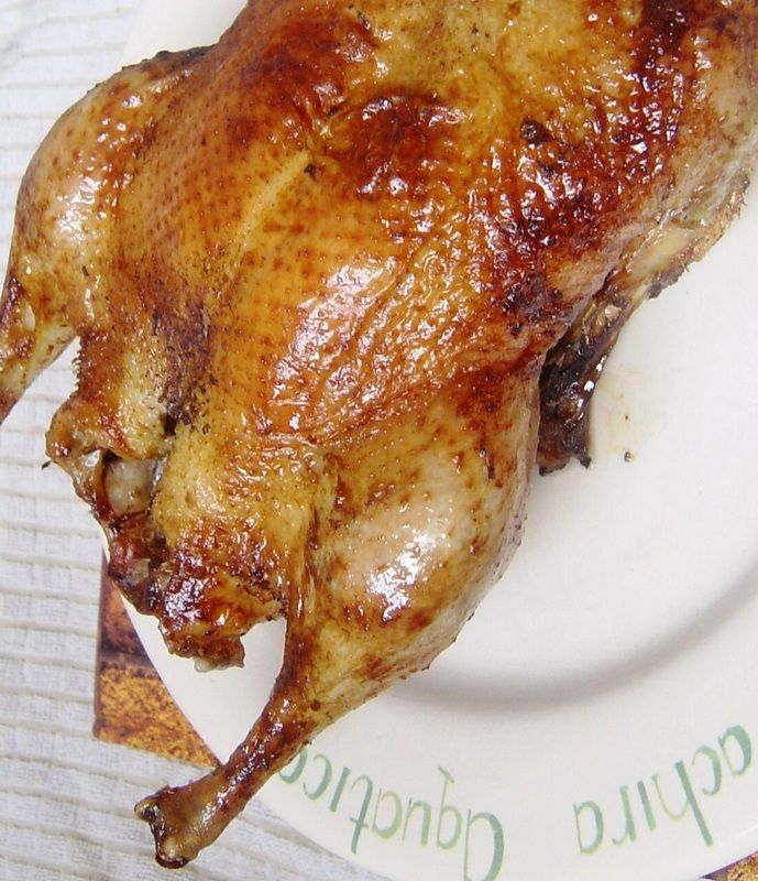 Roast Duck Chinese Style Recipe