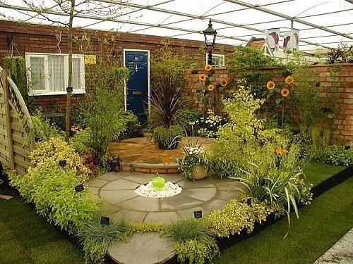 Garden ideas blooming pinterest for Garden designs pinterest