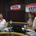 """Esperanza con Mariella Balbi en el programa de radio """"Las cosas claras"""