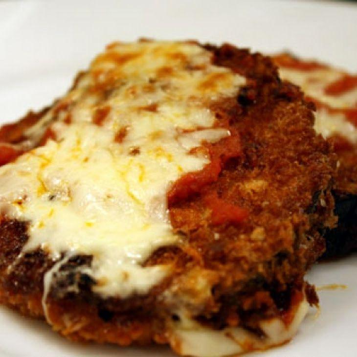 Eggplant Parmesan Recipe | Recipes | Pinterest
