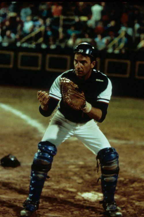 Bull Durham (1988) Crash Davis. Kevin Costner as a baseball player ...