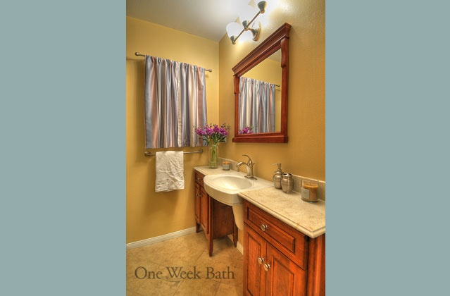 Alternative double vanity bathroom ideas pinterest