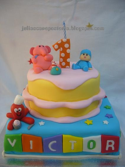 Pocoyo cake - Maybe for birthday 2