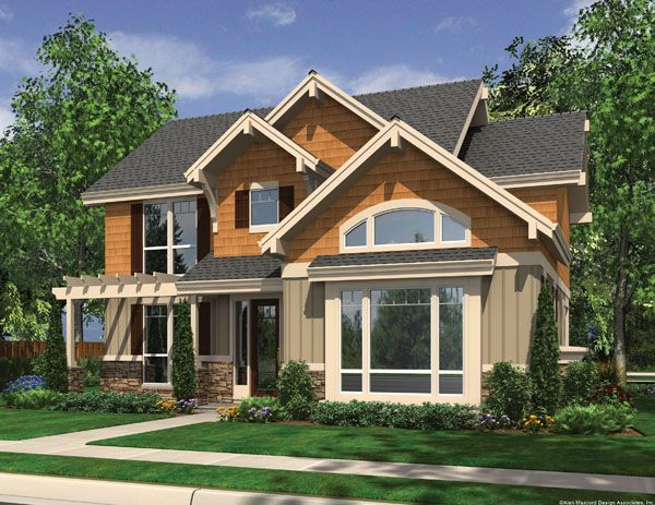 Mascord house plan 22169 House plans mascord