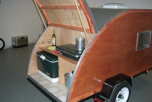 Teardrop camper ideas and designs pinterest autos weblog for Teardrop camper kitchen ideas