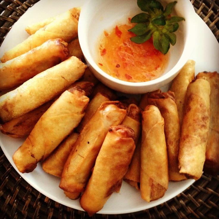 Filipino egg rolls (lumpia) | Recipes | Pinterest