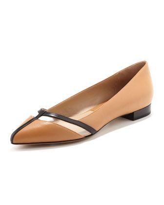 Jodi Pointed-Toe Flat by Michael Kors | SHOE FETISH !!! | Pinterest
