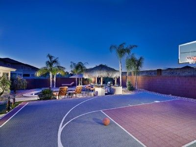 Private basketball court vision board pinterest for Personal basketball court