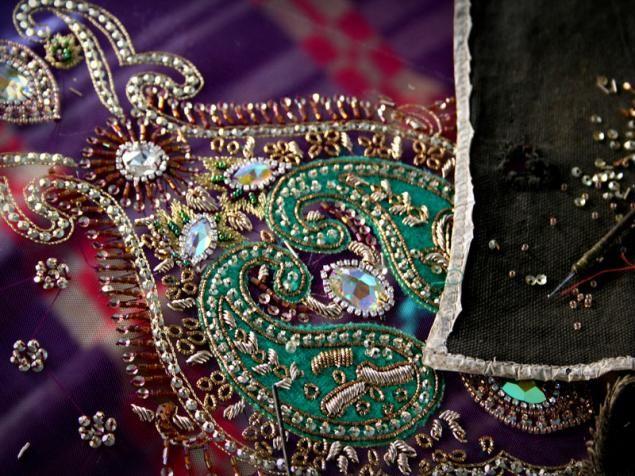 Древнее искусство вышивки зардози
