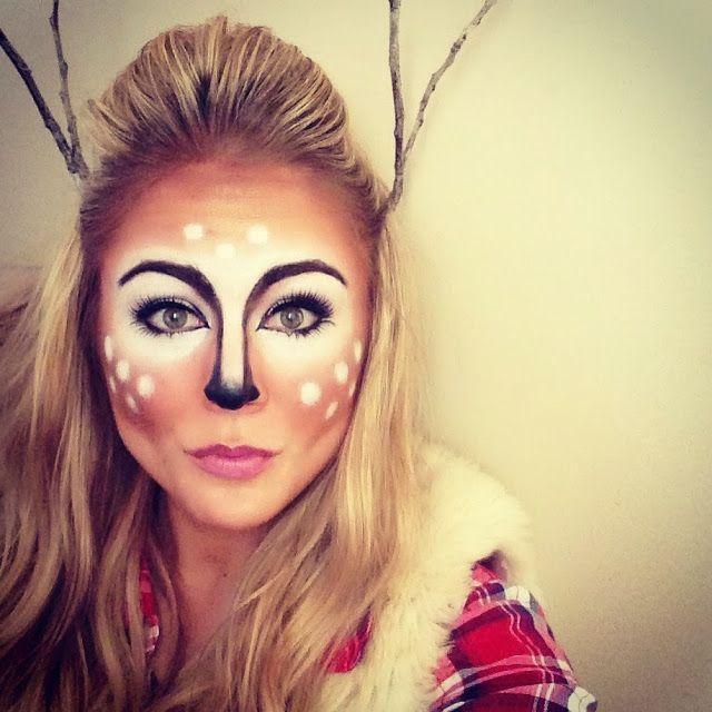 deer halloween makeup - photo #2