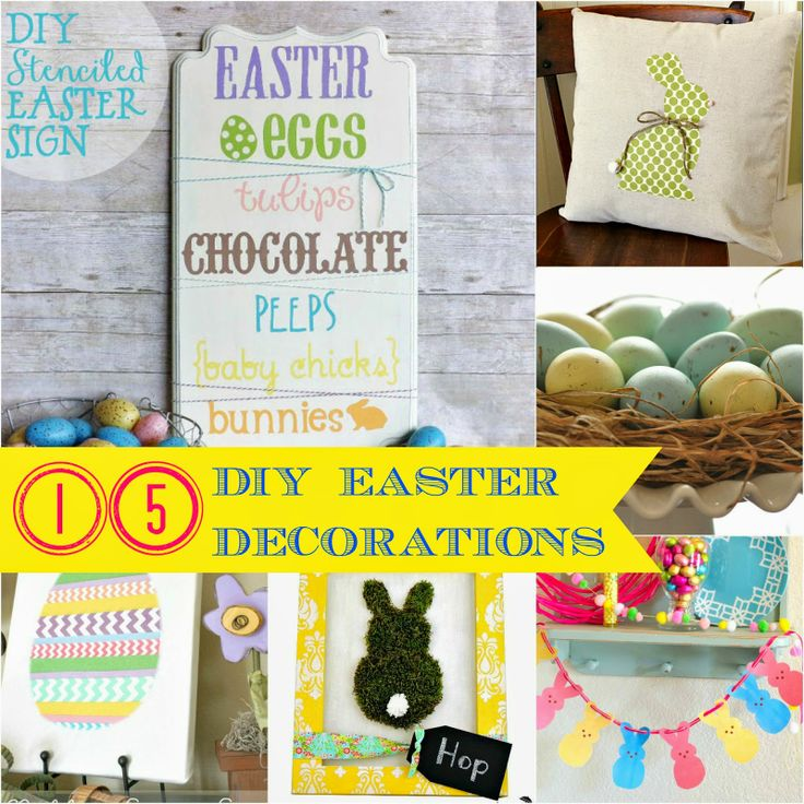 Diy Easter Decorations Home 15 Diy Easter Decorations For