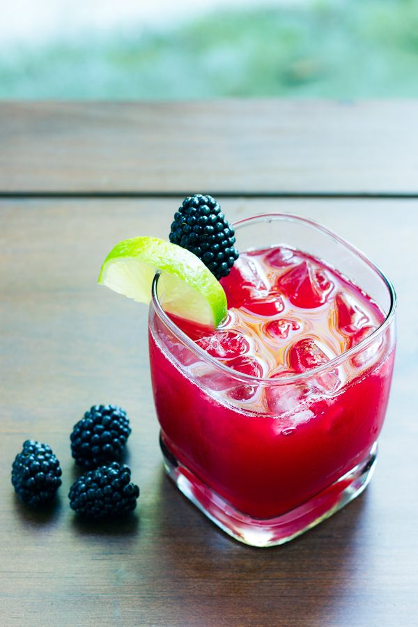 Blackberry Limeade recipe | limeade recipes | Pinterest