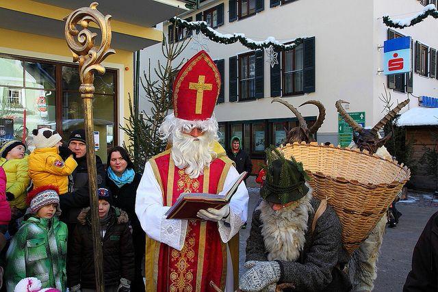 Nikolaus und Krampus | Salzburger Bergadvent im Großarltal ...