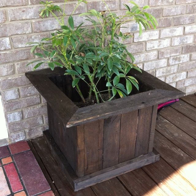Flower pots made from pallets 2014 gardening outdoors for How to make plant pots from pallets