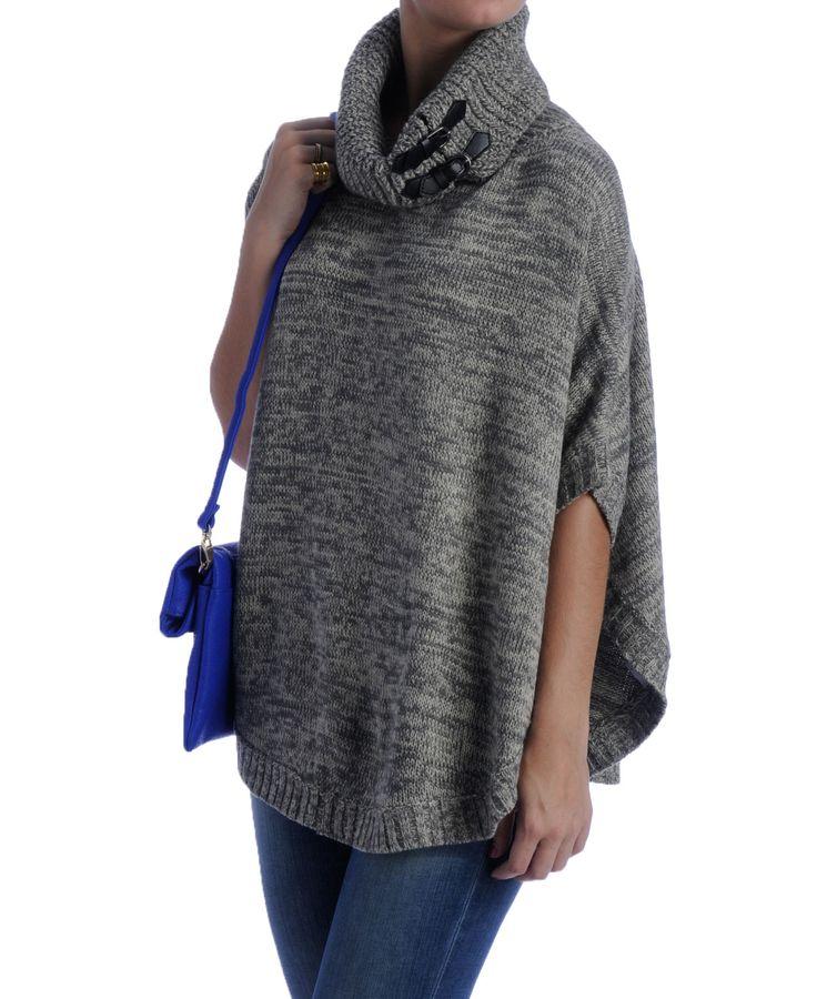 Costa Blanca Knit Cape Sweater