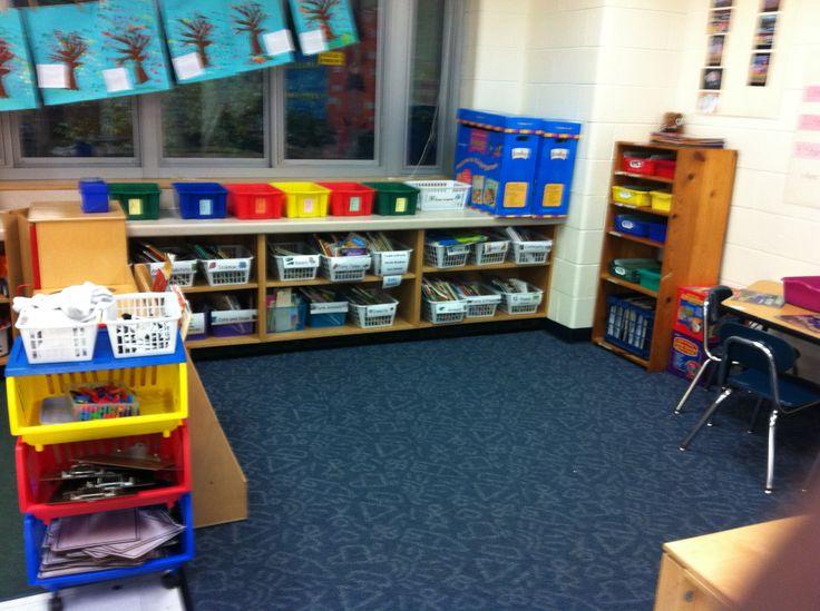 Classroom Library Ideas Kindergarten : My old kindergarten classroom library ideas