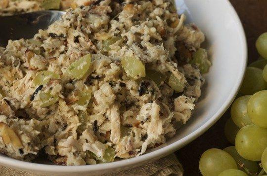 Chicken wild rice salad | Salads | Pinterest