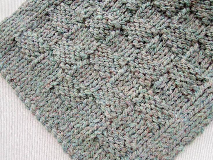 Basketweave scarf Knitting Patterns Pinterest