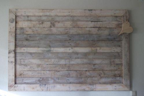 Pallethout Decoratie