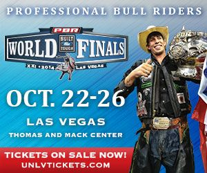 Professional bull riders mauney vs bushwacker reminiscent of frost