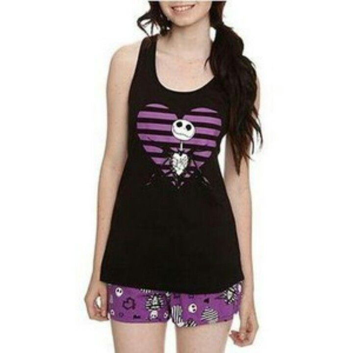 Nightmare Before Christmas pajamas | Nightmare Before Christmas | Pin ...