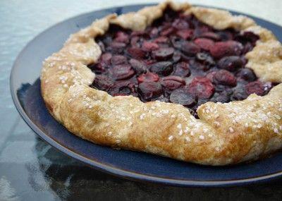 Rustic Cherry Tart | Recipes | Pinterest