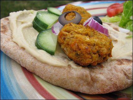 sweet potato falafel | Vegan/ Vegetarian | Pinterest