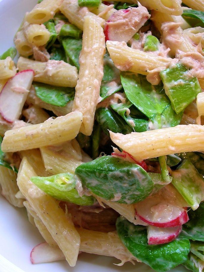 tuna pasta salad | Good eats | Pinterest