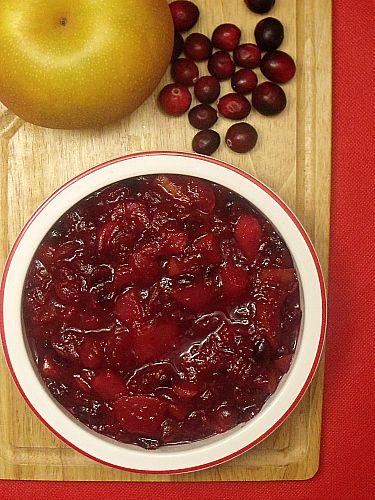 Korean Pear Cranberry Sauce | SAUCES AND GRAVIES | Pinterest