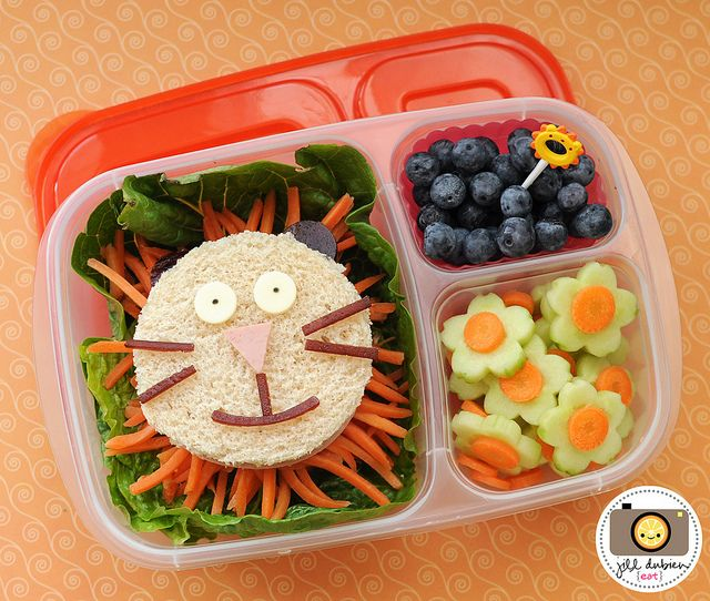 Fun bento box lunches kids food ideas pinterest for Lunch food ideas