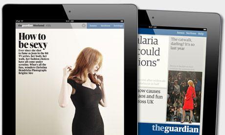 Design Magazines on Guardian Ipad App  Magazine   Web Design