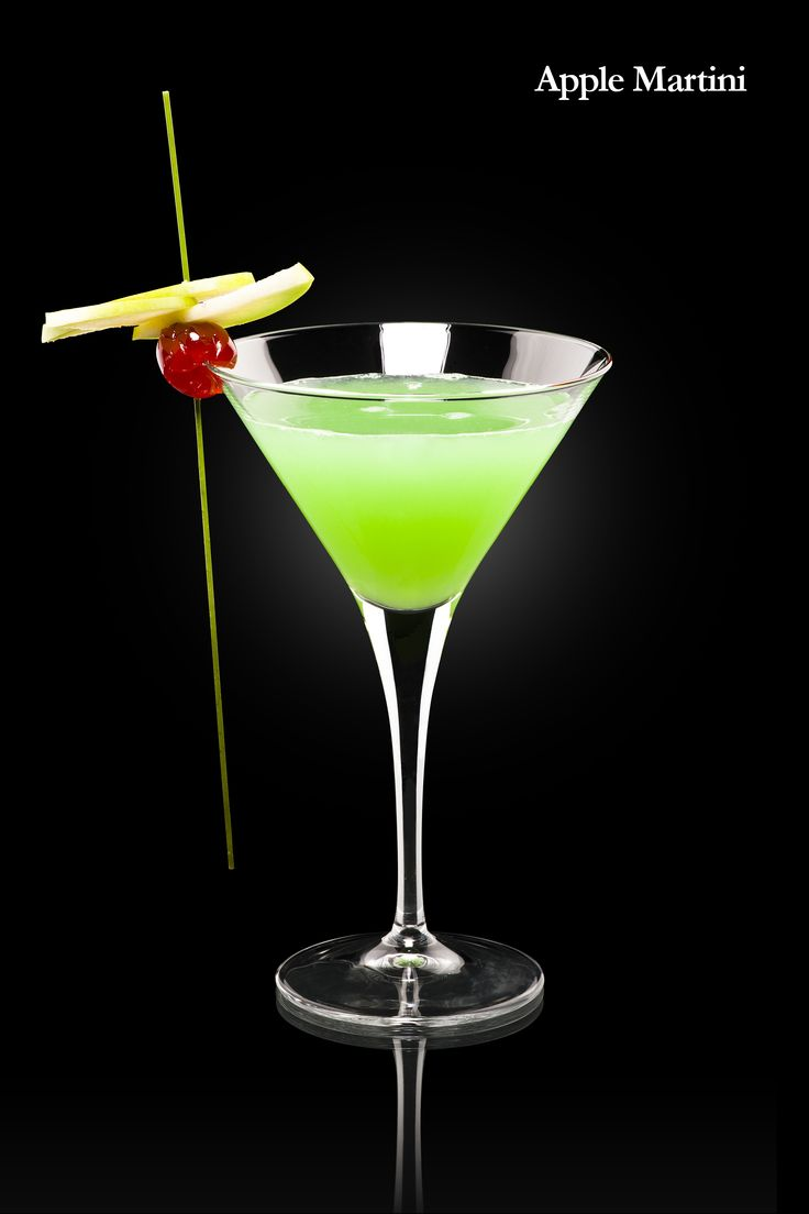 Apple martini iconic cocktails pinterest for How to make martini cocktail