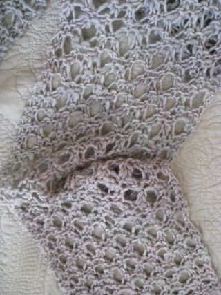 Crochet Patterns With Fine Yarn : Crochet Scarf Thin Yarn - Quick And Easy Crochet